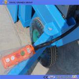 유압 공중 작업 플래트홈은 플래트홈을 가위로 자른다