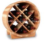 Décor à la maison créateur de crémaillère de vin de support de vin de 9 bouteilles