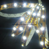 120LEDs/M 12V-24V SMD3528 2200-3500k scaldano l'indicatore luminoso di striscia bianco del LED