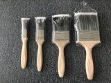Деревянная щетка краски ручки с нитями PBT материальными
