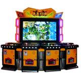 Máquina de juego interesante de fichas de la lotería del valor