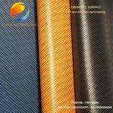 Nettes Muster Rexin Leder für PU-Schuh-Oberleder Fpa16g9k