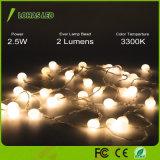 装飾用の防水ウォームホワイトフェアリー星空LEDストリングライト