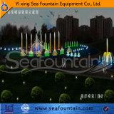 Fuente al aire libre de la piscina Seafountain del diseño decorativo ligero del LED