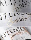 Papel adhesivo/escritura de la etiqueta plástica del vino