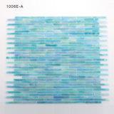 Irrdecent Mosaik-Wand-kleine Glasfliesen für Badezimmer Backsplash