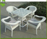 Сада Ratan мебели отдыха таблица и стул напольного Wicker