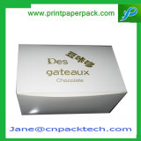 Boîte-cadeau de empaquetage de papier réutilisée de carton