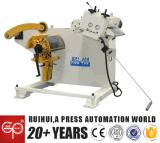 ストレートナが付いている中国の製造者0.3-3.2mm材料Uncoilerはストリップのまっすぐにを作る