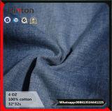 Cotone 100% dell'indumento dei jeans di stile di estate tessuto del denim dalle 4 once