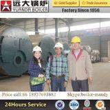 Боилер горячей воды газа газовое маслоо поставщика боилера Китая ый Dissel для гостиницы