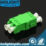 Adaptador óptico Lca de fibra al verde unimodal a dos caras de Lca