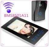 Bestes Geschenk 7 Zoll-Screen-videotürklingel-Tür-Telefon-AusgangsSicherheitssystem