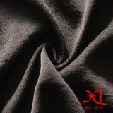 ткань 95%Polyester 5%Spandex черная шифоновая для платья/одежды