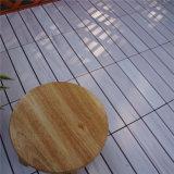 나무는 PS 플라스틱 Decking 지면 도와를 모방한다