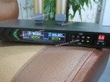 Dx38 UHFの頻度二重手持ち型の無線マイクロフォン