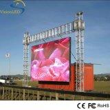 Tipo locativo video schermo esterno della parete di P10 SMD LED per la dimostrazione