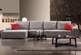 新しい現代居間の家具のホテルの寝室ファブリックコーナーのソファー
