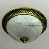 Hot Sell Middle East Style Round Modern Light Glass Ceiling Light