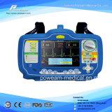 Defibrillator bifase portatile dell'VEA del pronto soccorso dell'ospedale con il video