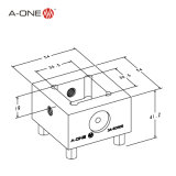 Приспособление удерживания электрода для автоматизации EDM (3A-501105)