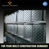 構築の建物のための金属の足場板