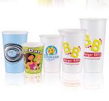 Одностеночные устранимые горячие бумажные кофейные чашки 8oz