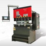 Máquina inferior plateada de metal del freno de la prensa del CNC del mecanismo impulsor de la hoja serva electrohidráulica de Tr3512 Amada