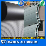 De aluminio de rodillos para puerta / puerta automática enrollable de aluminio Perfil