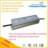 120W 2.5A 29~58.8V im Freien programmierbarer Cccv LED Fahrer