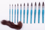 Borstel de van uitstekende kwaliteit van de Kunstenaar van het Haar van de Eekhoorn