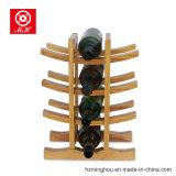 Уникально стойка индикации вина сосенки 12 бутылок для стеллажа для выставки товаров