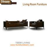 Sofá moderno da sala de visitas com canto elétrico do couro do sofá do Recliner para a mobília Home