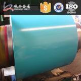 L'utilisation de construction a enduit la bobine d'une première couche de peinture en acier de Galvalume