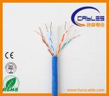 23AWG / 4p UTP Cable LAN CAT6 Flujo de cobre desnudo pasó100m