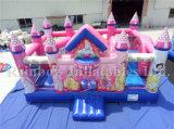 Opblaasbare Koningin Cartoon Bouncy Castle Inflatable Speelplaats