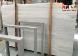 Слябы Сибиря китайского начала естественные каменные белые мраморный для плакирования/настила/строительного материала стены