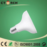 Base neuve de l'ampoule E27/B22 d'éclairage LED de l'arrivée P30 12W de Ctorch