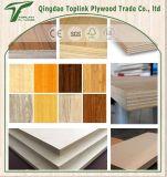 Un precio más barato al por mayor de madera contrachapada de 18 mm Comercial Chapas de madera / laminado Comercial