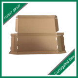 Белая коробка упаковки Corrugated картона для номерного знака