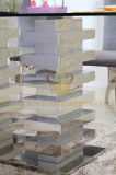 Insieme domestico moderno della mobilia del salone della mobilia di disegno di strato dell'acciaio inossidabile Sj930