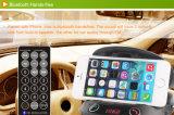 Freisprech-FM Bluetooth Übermittler für Auto mit Telefon-Halter