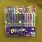 24 de Reeks van de Pen van Glliter van kleuren (#108), de Pen van de Inkt van het Gel
