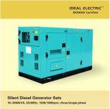 Jogo de gerador Diesel silencioso 10-2500kVA@50Hz, 12-3000kVA@60Hz
