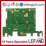 Carte à circuit multicouche de carte d'appareils médicaux de 1.0mm 6L OSP V0