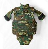 Le PE de Nij III Kevlar a armé le gilet tactique protecteur de camouflage de police