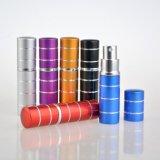 frasco Refillable de alumínio portátil do pulverizador de perfume 5ml