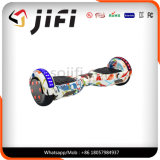 Individu équilibrant le scooter électrique Hoverboard Bluetooth \ éclairage LED, atterrisseur, batterie de deux-roues de Samsung