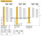 Qtz160le8水平寄せタワークレーン8t