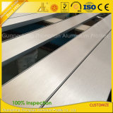 Testo fisso di alluminio di spazzolatura delle mattonelle della fabbrica per la riga d'angolo decorazione